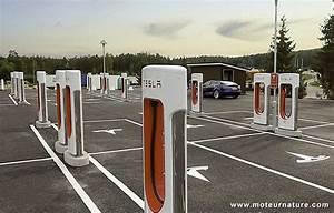 Borne De Recharge Tesla : nebbenes la station de recharge de 2 m gawatts de tesla ~ Melissatoandfro.com Idées de Décoration