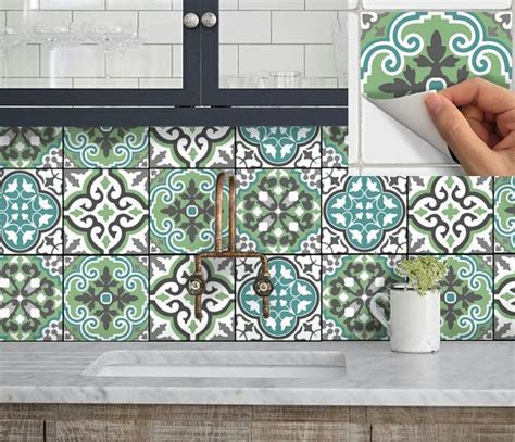 Fliesenaufkleber Boden by Tile Sticker Kitchen Bath Floor Wall Waterproof