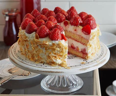 Erdbeer-Ricotta-Torte Rezept