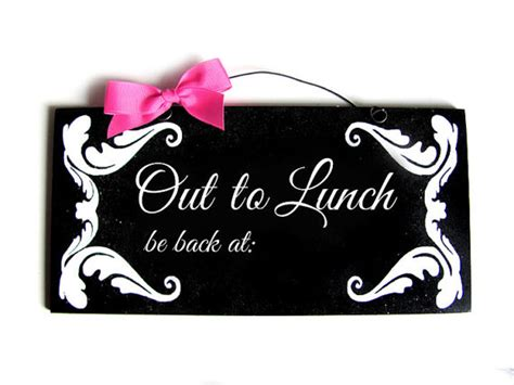 lunch sign  clipartioncom
