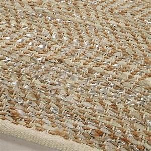 tapis beige taj 140x200 maisons du monde With tapis shaggy avec maison du monde canapé cuir