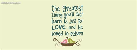Cute Love Quotes FB profile Cover Picture
