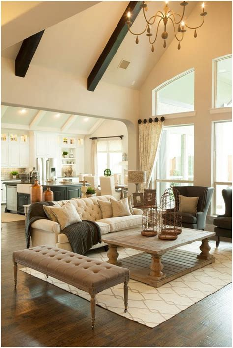 spacey cathedral ceiling living room designs modern