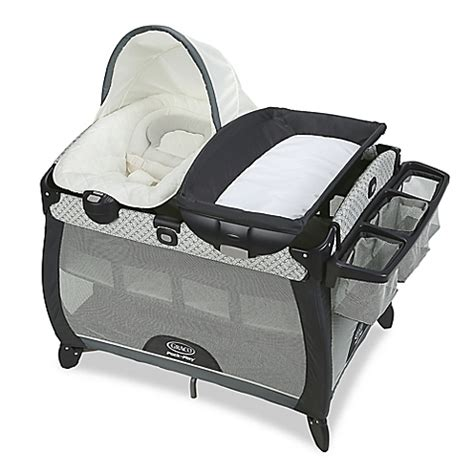 bassinet that connects to bed graco pack n play connect portable napper deluxe