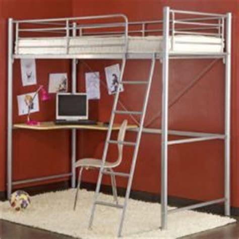 lit mezzanine 1 place bureau integre id déco pour ado et meubles ado lit mezzanine ou