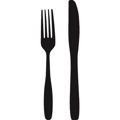 fork and knife clipart black and white free fork and knife free clip free clip