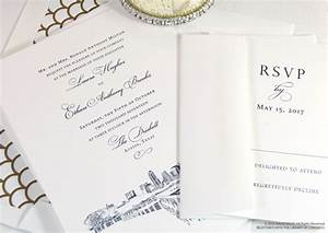austin texas skyline wedding invitations With wedding invitation printing austin