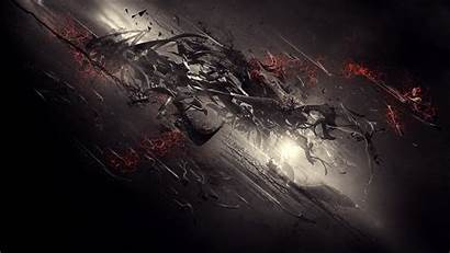 Abstract Dark 3d Digital Desktop Wallpapers Background