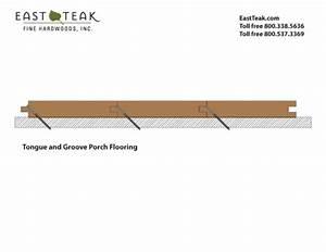 T U0026g Porch Flooring Install Diagram
