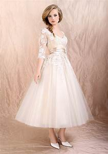 tea length wedding dresses with sleeves a trusted With tea length wedding dresses with sleeves