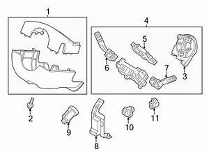 2014 Ford Explorer Steering Wheel Position Sensor  Park