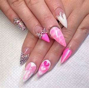 60+ Most Beautiful Stiletto Nail Art Designs Ideas For ...