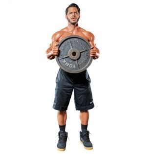 plate curl  press muscle fitness