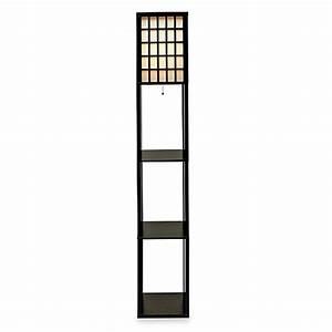 buy adesso middleton shelf floor lamp from bed bath beyond With shelf floor lamp bed bath and beyond