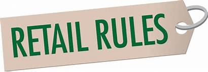 Rules Retail Signs Stores Taped Dealer Rural