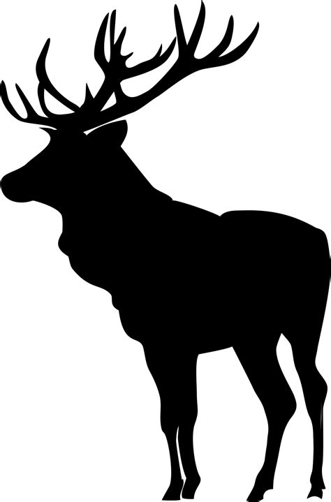 Moose Silhouette Pattern At Getdrawingscom Free For