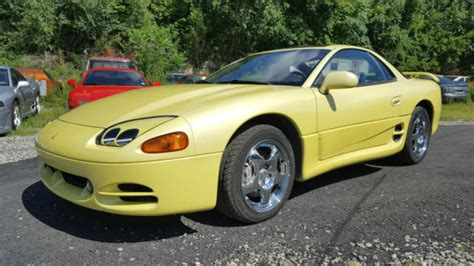 1994 Mitsubishi 3000gt Vr4 by 3000gt Vr4 Turbo Awd Pearl Yellow Great Condition