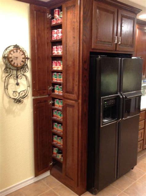 side storage  fridge inspiration idea kitchen