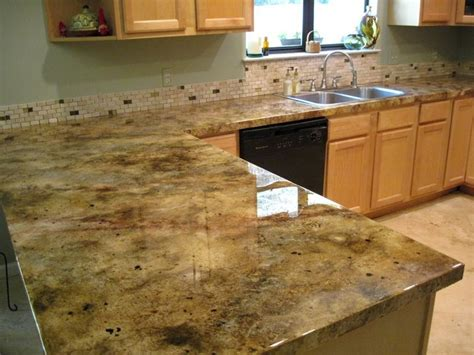 icoat concrete overlay faux granite look picture by the
