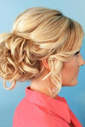 Updo Hairstyles For Curly Medium Length Hair by 45 Trendy Updo Hairstyles For You To Try Lovehairstyles