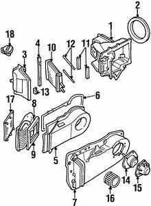 1990 Cadillac Deville Hvac Heater Core