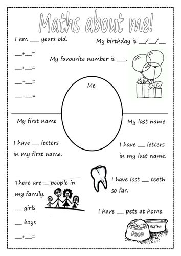 maths about me day activity by jellyhead1 627 | image?width=500&height=500&version=1409587996000