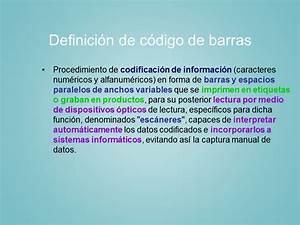 La Tecnolog U00eda Del C U00f3digo De Barras