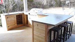 3 Plans to Make a Simple Outdoor Kitchen - Interior