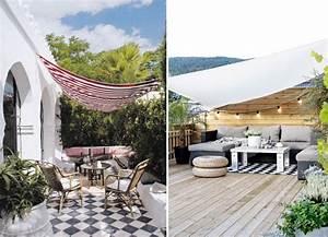 Gifi Voile D Ombrage : solution pour ombrager terrasse en plein soleil ombrage ~ Dailycaller-alerts.com Idées de Décoration