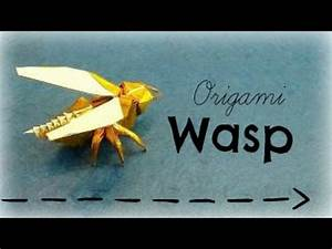 Wasp Origami Tutorial  Avispa  Anibal Voyer