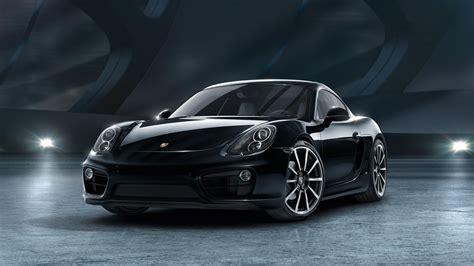 porsche cayman black edition top speed