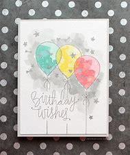 Best Watercolor Birthday Card