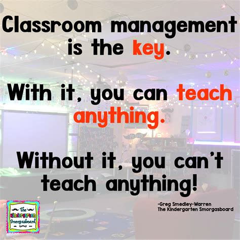 classroom management   key  kindergarten