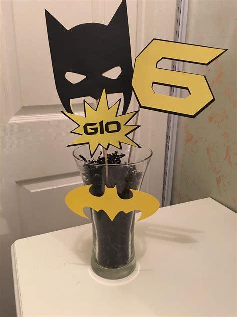 batman centerpieces lego batman party batman party
