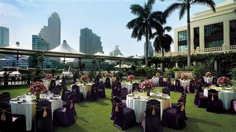 Garden Decoration Bangkok by Bangkok Wedding Venue Weddings At The Peninsula Bangkok