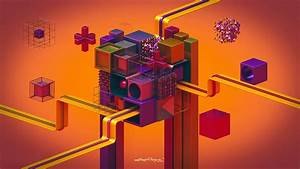 Lacza, Abstract, Colorful, Geometry, Digital, Art, 3d