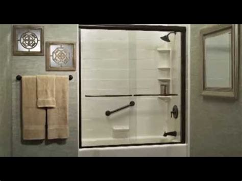 bath fitter shower remodeling overview youtube