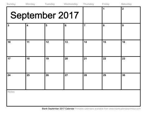 blank calendar template 2017 blank september 2017 calendar weekly calendar template