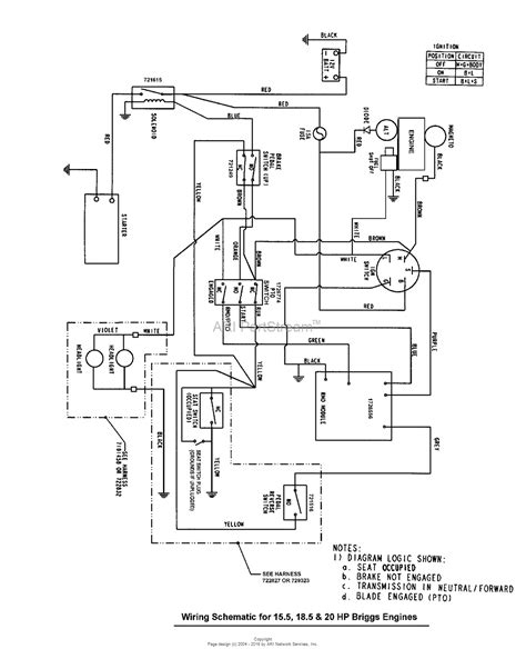 Mtd 10 Hp Wiring Diagram by Murray 7800311 Clt20460 20hp 46 Quot Hydro Drive Manual Pto