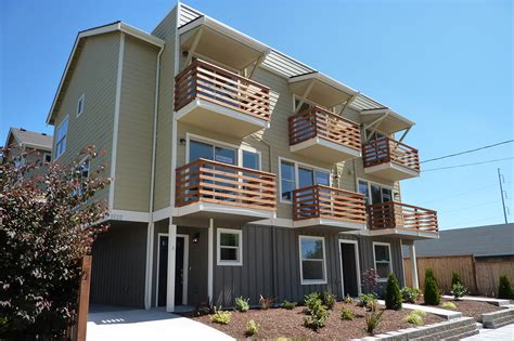 West Seattle Townhomes  Seattle Architects Motionspace
