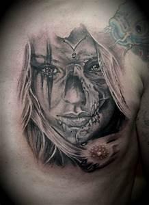 Tribal Tattoo Frau : art of paint tattoos von matze portraits und spezielles ~ Frokenaadalensverden.com Haus und Dekorationen