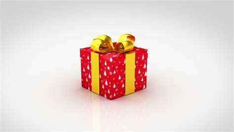 gift boxes opening 3d animation of 6 different christmas
