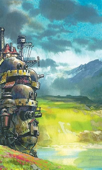 Fond Ecran Chateau Ambulant Miyazaki