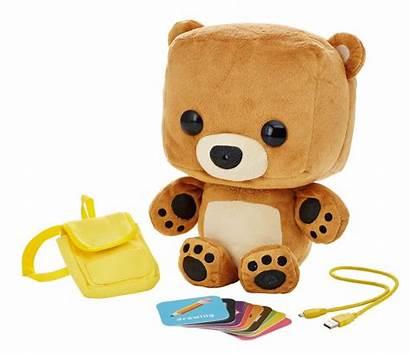 Bear Toy Smart Fisher Plush Interactive Meet