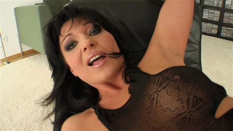 all in black milf gushes up a sexy during pounding on