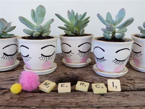 pot de depart original pot de d 233 part mini succulentes pour dire merci couture turbulences