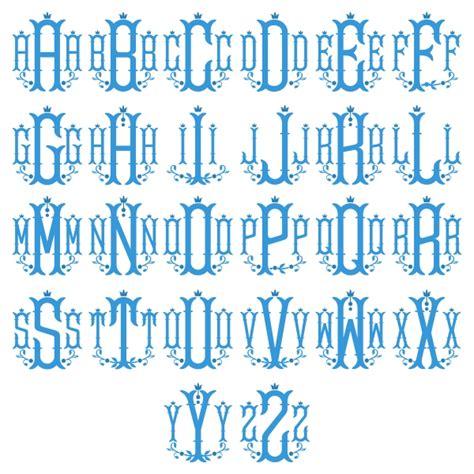 nola monogram embroidery font