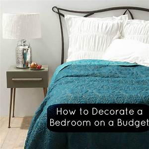 How to decorate my bedroom on a budget photos and video for How to decorate a house on a budget