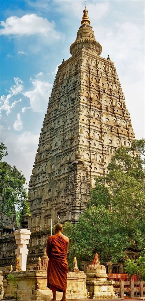 bodhgaya is buddhism landmark in india the place