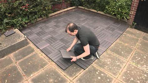 installing trex decking concrete installing composite decking concrete patio home